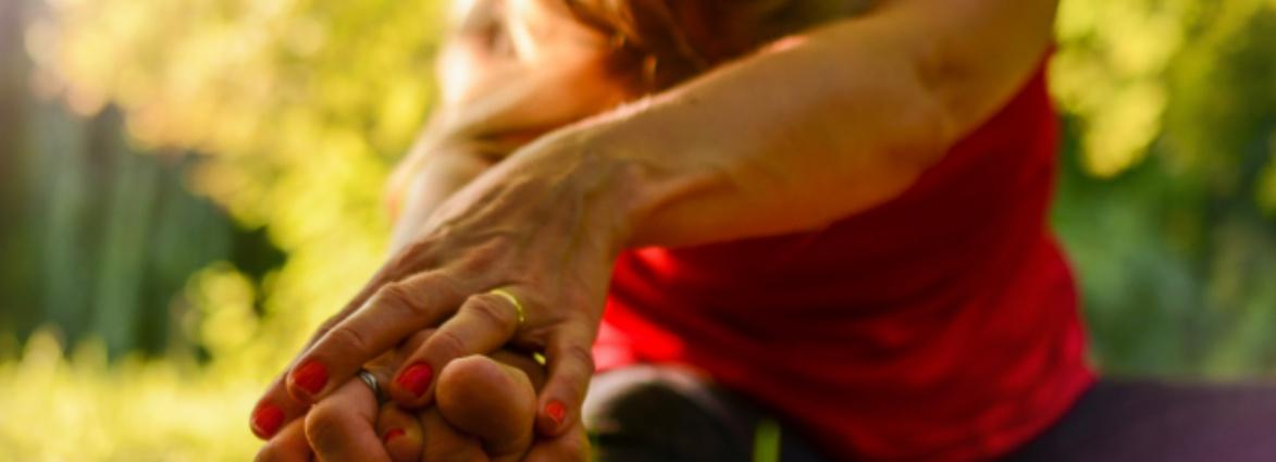 yoga tijdens de overgang groot